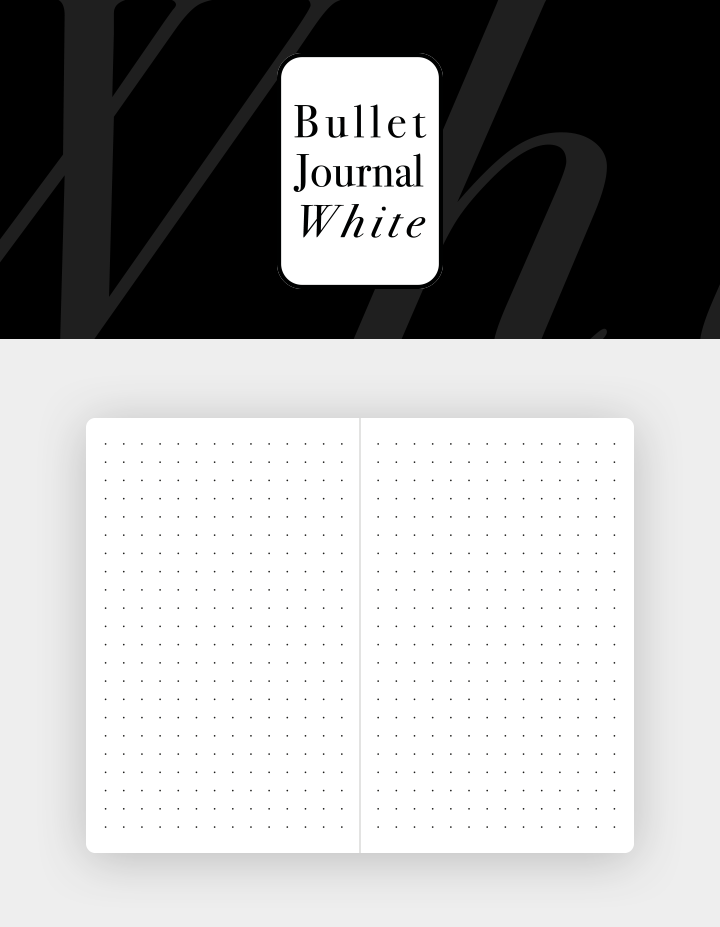 Bullet-journal-Box-Refill-White-organizer